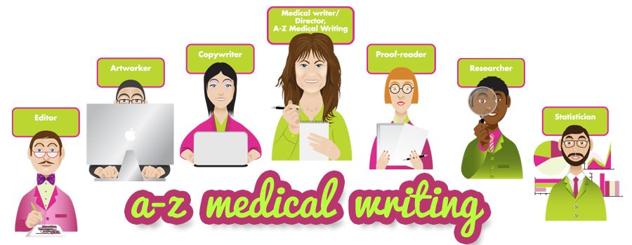 a-z medical writing team